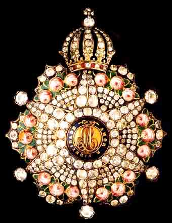 Grand Cross, breast star in brilliants